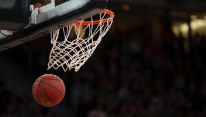basketball in goal