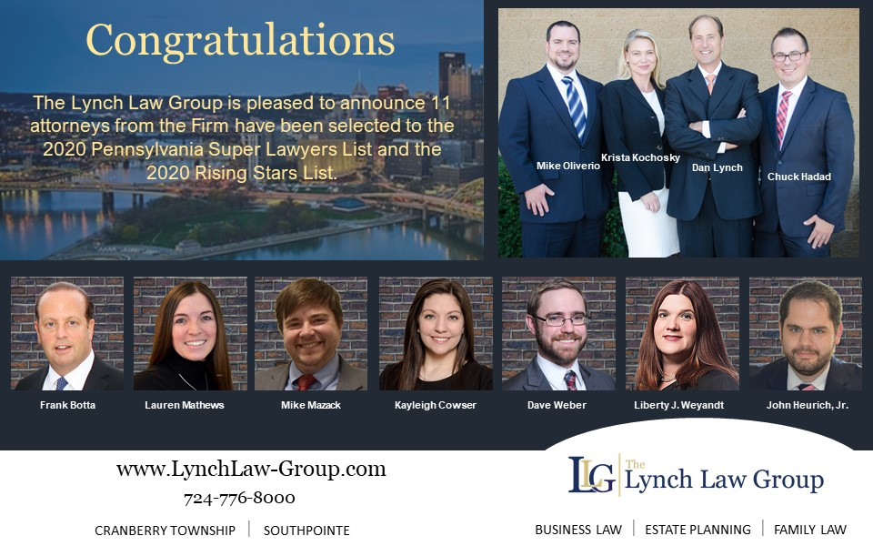 Lynch Law Group Attorneys Selected to 2020 Super Lawyers List